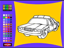 Police Car Coloring Pages For Kids Police Car Coloring Pages Youtube