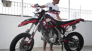klx 250 supermoto cinematic indonesia youtube