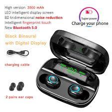 <b>Tourya</b> Touch Control Bluetooth Wireless <b>Earphones Headphones</b> ...