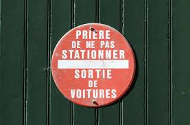 """Résultat de recherche d'images pour """"panneau interdiction de stationner"""""""