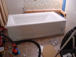 rope edged bathtub