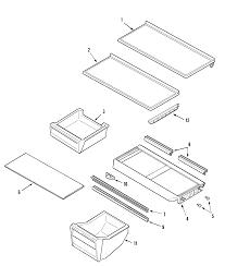 Maytag maytag refrigeration parts model ptb195lgrw sears partsdirect