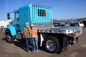 this is the second aluminum truck flatbed for this happy couple the pull horses around