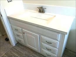 feather finish concrete countertop feather finish
