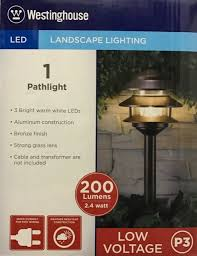 endearing westinghouse landscape lighting and westinghouse led landscape lighting pathlight 1 low voltage p3