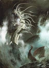 ёрмунганд Blood Rage в 2019 г скандинавская мифология тату и