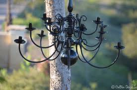 how to paint brass chandelier black designs