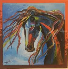 the horse of ilration paintings fine art