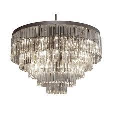 harrison lane empress crystal palladium 17 light crystal chandelier