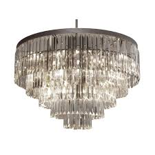 harrison lane empress crystal palladium 17 light crystal chandelier