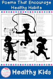 Poem About Curriculum Design Healthy Kids Poems That Encourage Healthy Habits Theresas