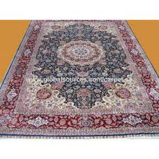 china handmade silk red color persian carpet antique hand knotted turkish rugs guangzhou whole