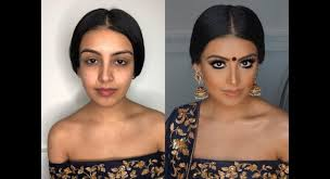 indian bollywood south asian bridal makeup from start to finish blueroseartistry