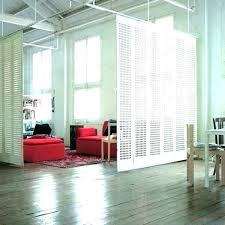 wall mounted room dividers uk ceiling hanging divider sliding wall mounted room dividers