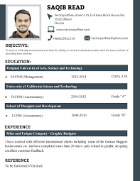 Gallery Of Professional Fresh Students Cv Template 2014 Resume