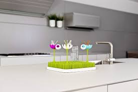 boon bottle accessories boon lawn countertop drying rack green