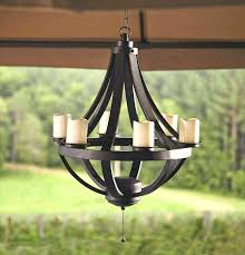 battery operated outdoor chandelier battery operated outdoor