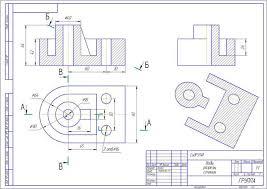 Контрольная работа по инженерной графике Вариант й  Контрольная работа по инженерной графике Вариант 10 0 1 й семестр