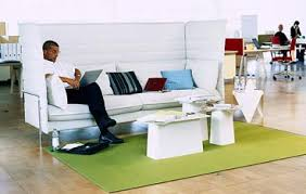 sofa for office. acoustic seating sofa for office