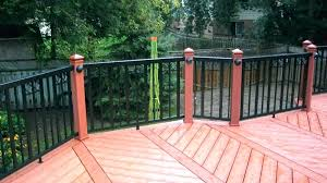 home depot deck railing systems exclusive to the aluminum glass kitchen fauc