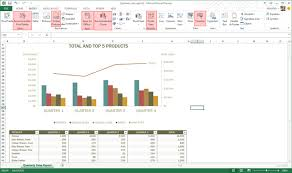 How To Insert A Chart In Excel 2013 Whats New In Microsoft Excel 2013 Review