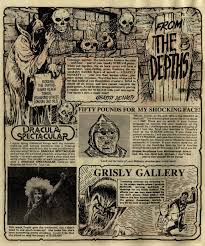 on this day scream great news for all readers the dracula file gerry finley day writer eric bradbury artist