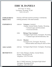 Job Resume Template 2018 Unique First Job Resume Template Examples Of Resumes For First Job And