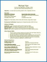 Accounting Entry Level Resume Objective For Resume Accounting Entry Level Emberskyme 13