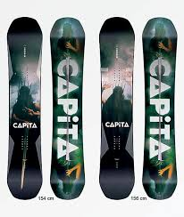 Capita Size Chart Capita Defenders Of Awesome Snowboard 2019