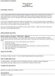 Call Centre Cv Student Cv Example Template Icover Org Uk