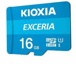 Thẻ nhớ 16GB KIOXIA Exceria microSDHC tốc độ cao - FPT phân phối