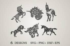 Free svg designs, chicago, illinois. 12 Unicorn Mandala Svg Designs Graphics
