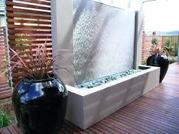 outdoor wall waterfall awesome outdoor wall water fountains diy outdoor wall water fountain
