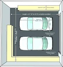 two car garage size dimensions of a two car garage normal garage size 2 car garage