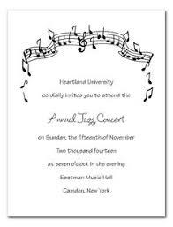 Concert Invite Template 24 Best Music Recital Images Recital Invitations Find Music