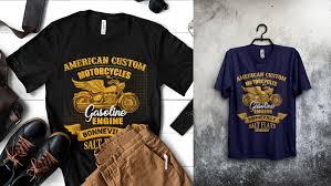 T0shirt Design Motorcycle T Shirt Design Tutorial In Adobe Illustrator On