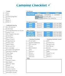 Create Checklist In Excel Checklist On Excel Excel Checklist Template Basic Training Checklist