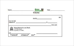 Blank Cheque Template Inspiration 48 Blank Check Template DOC PSD PDF Vector Formats Free