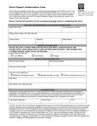 How To Fill Out Direct Deposit Form Cigna Direct Deposit Form Fill Out And Sign Printable Pdf Template