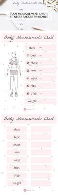 isagenix measurement tracker the 25 best body measurement chart ideas on pinterest weight