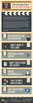 Video Resume Tips 7 Tips For Creating A 5 Star Video Resume Recruitgyan