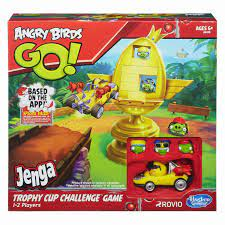 Angry Birds Go! Merchandise: Angry Birds Go! Jenga Trophy Cup Challenge  Game Review