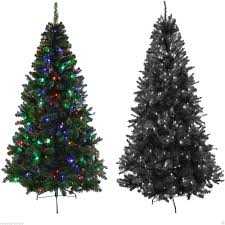 Accessories  Astounding White Christmas Tree Ideas Images About Black Fiber Optic Christmas Tree