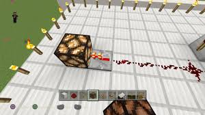how to make a redstone lamp flicker minecraft