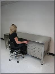 rdm adjule stainless steel executive desk adjule height