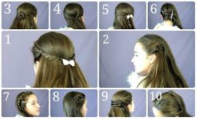Easy Hairstyles On The Go 10 Easy Simple Half Up Hairstyles For Everyday Youtube