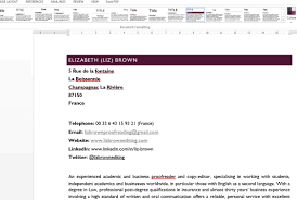using word styles and themes for your cv using word styles for your cv