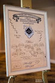 Map Seating Chart Wedding Harry Potter The Marauders Map Wedding Seating Chart Sit