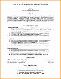 11 Resume Summary Statement Examples Sample Of Resume Summary