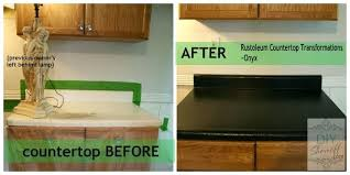 diy countertop paint transformations before and after diy laminate countertop paint
